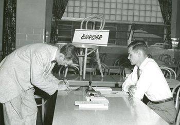 1957, Bursar's Desk, Marion