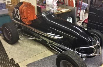 Ray Leo 1947 car
