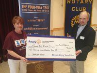 Donation to Marion County Humane Society