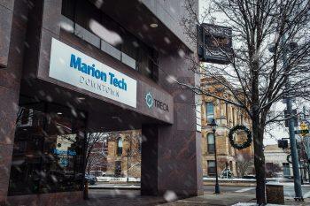 Marion Tech Downtown outside
