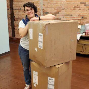 Candice first yard shipment