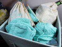 virtual knitting class kit