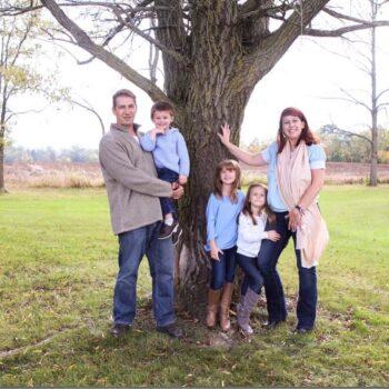 Jason Jordan and family