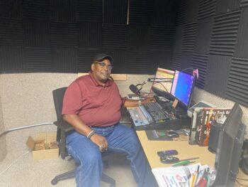 Ray at Radio Station