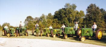 Ron family tractors