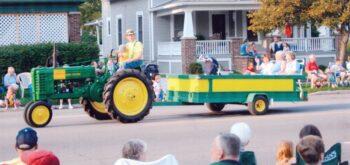 Ron grandson parade